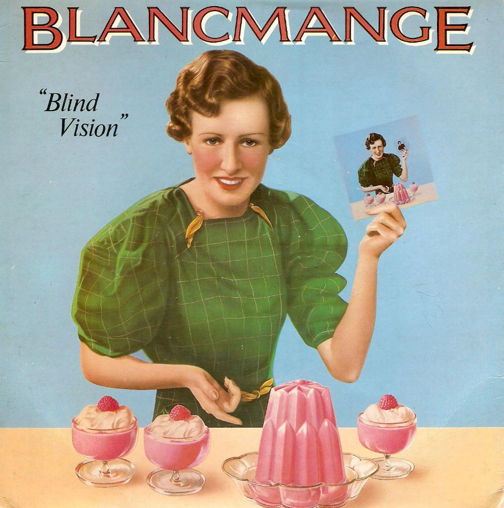 BLANCMANGE Blind Vision Vinyl Record 7 Inch London 1983